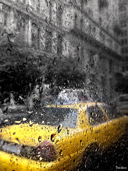 NYC taxi by Donibane