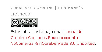 creative commons licence donibane