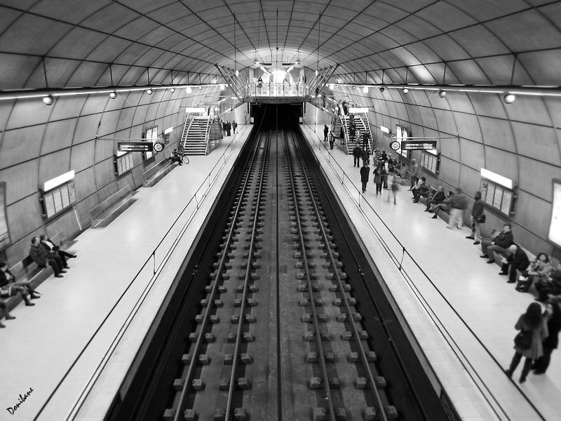 Metro Bilbao by Donbane