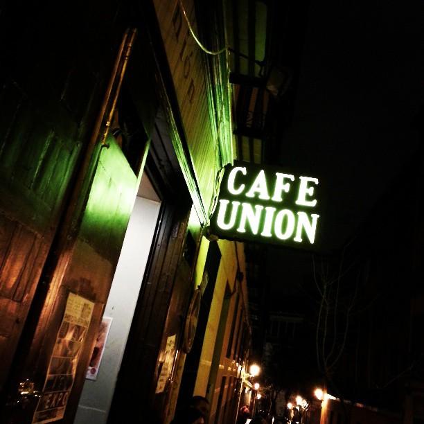 Café Unión en Madrid. Fotografía de Juancho Hernan Sanz