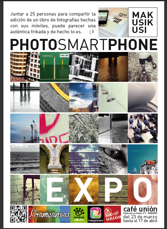Madrid acoge la presentación de PHOTOSMARTPHONE_BOOK, el primer libro hecho con fotografías de Instagram.