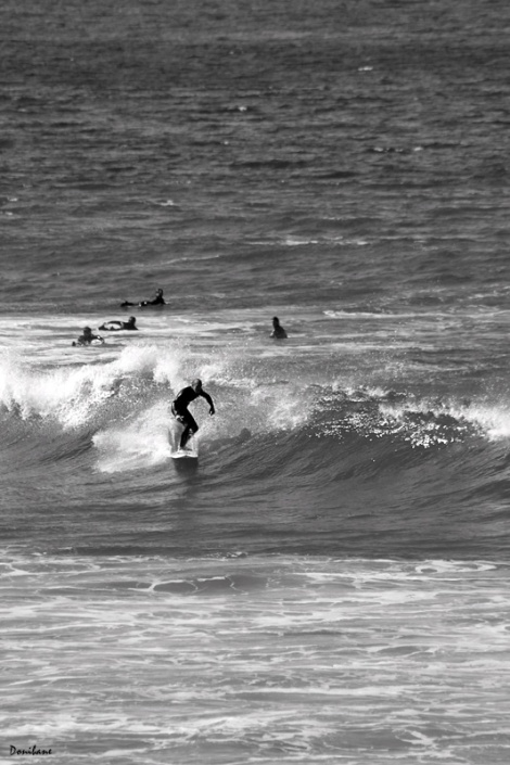 Surf in B&W by Donibane