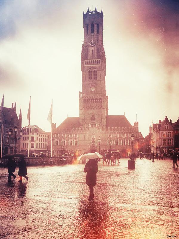 Un día cualquiera de invierno en Brujas, por Donibane ;-)